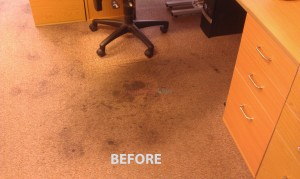 Dirty Office Carpet